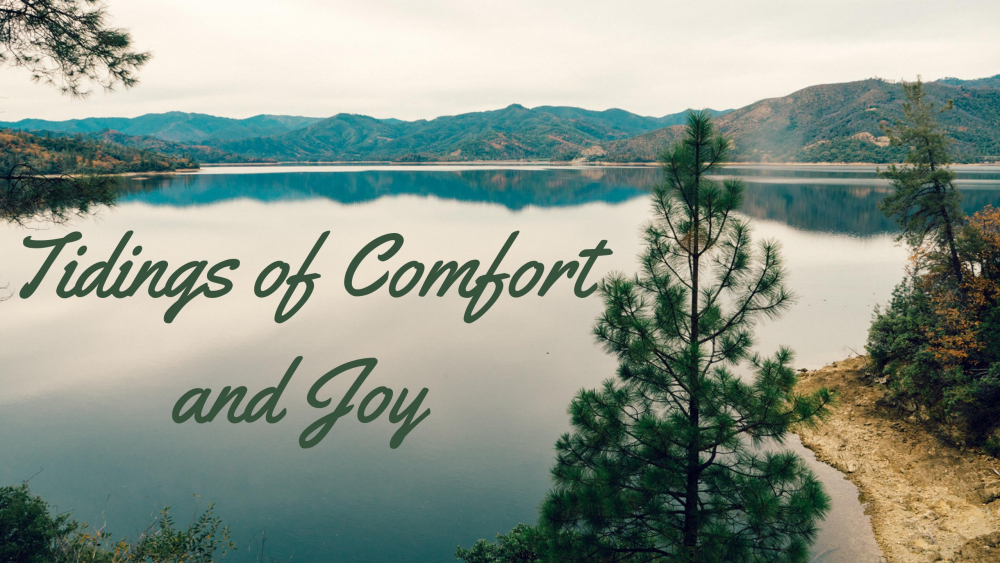 Tidings of Comfort and Joy Image