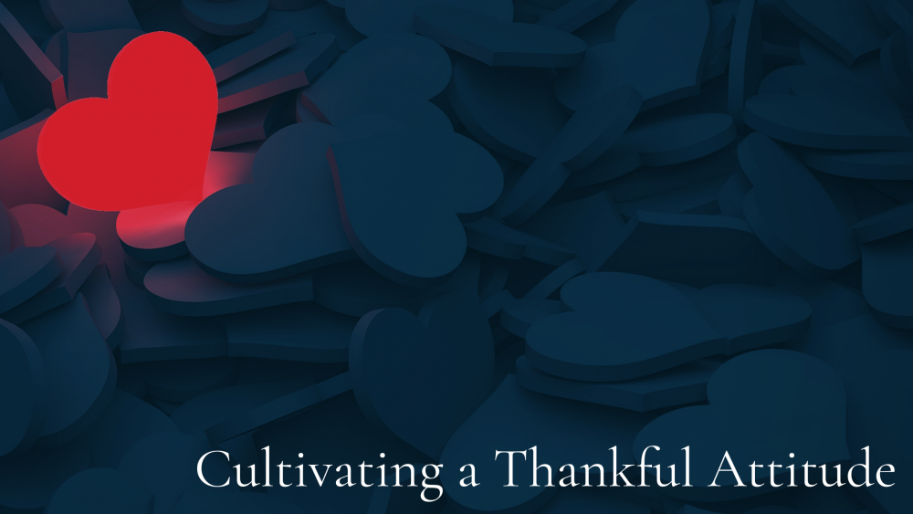 Cultivating a Thankful Attitude Image
