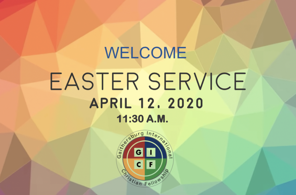 Easter Service 2020 Image