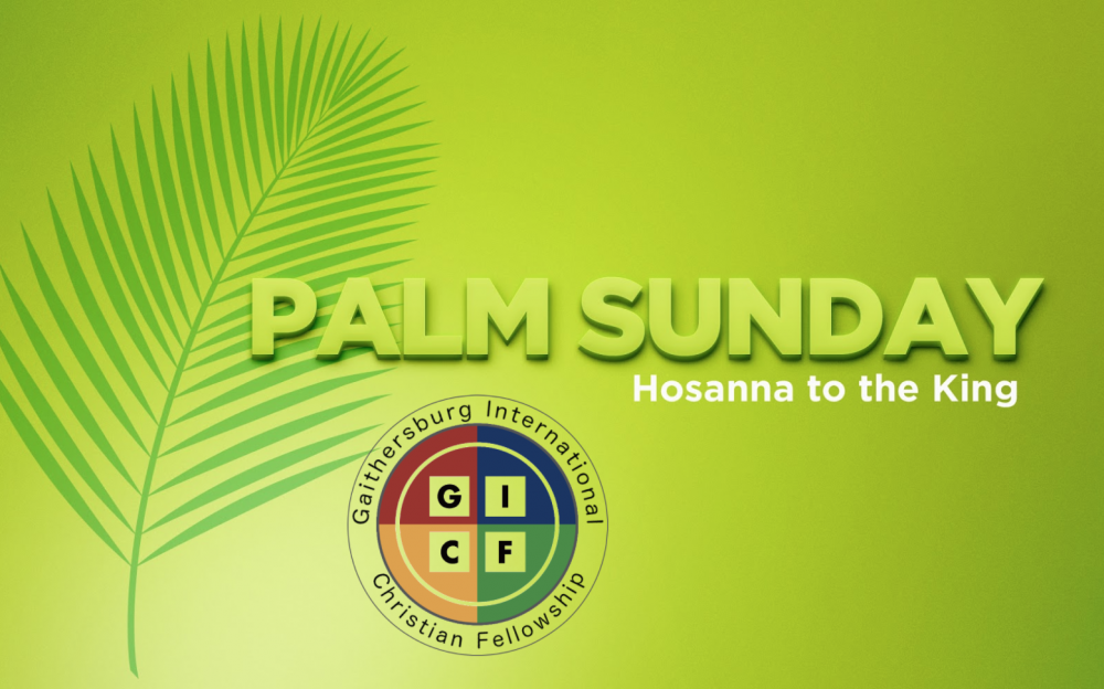 Hosanna to the King Image