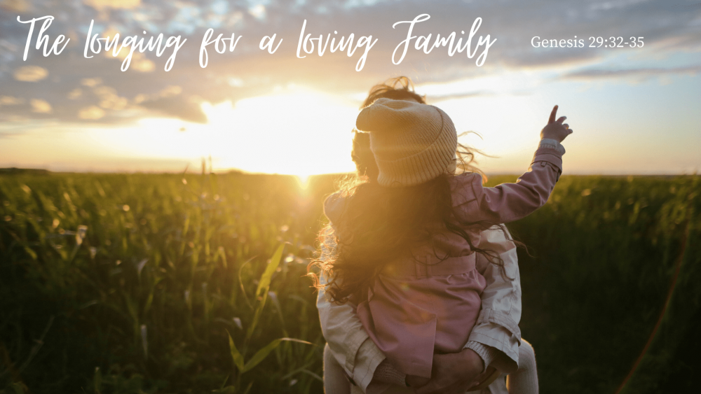 The Longing for a Loving Family Image