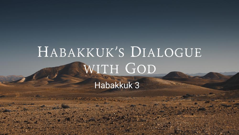 Habakkuk\'s Dialogue with God Image