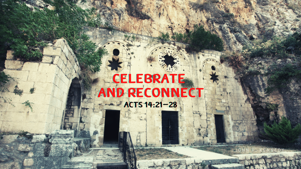 Celebrate and Reconnect Image