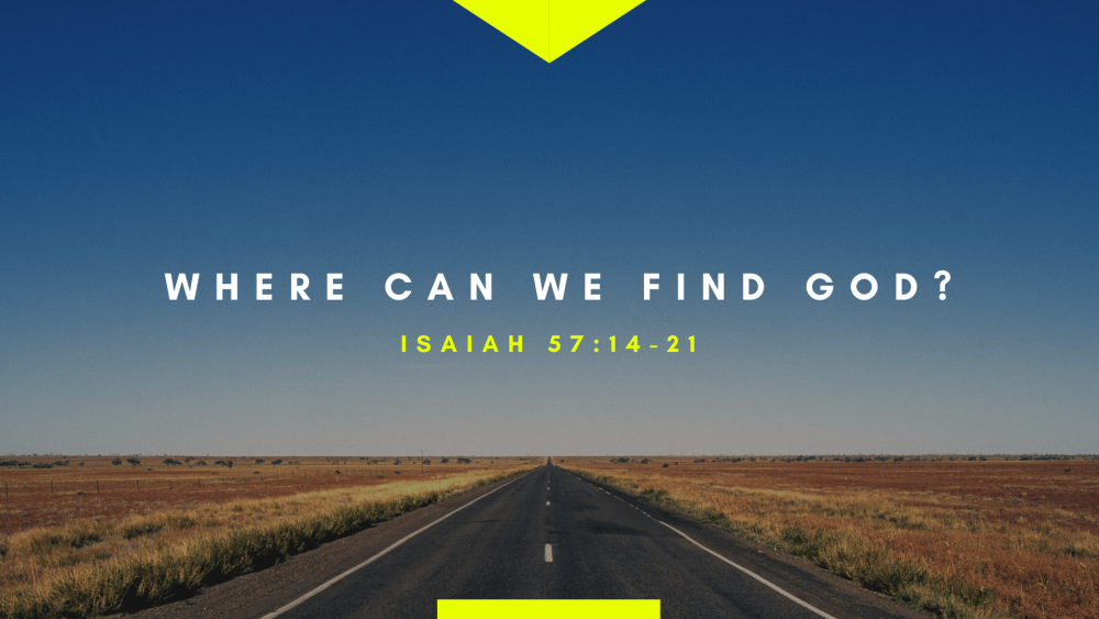 Where Can We Find God? Image